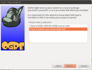 make sdk ogre