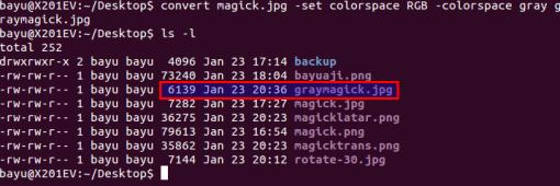 Script RGB to Grayscale